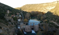 Rio Mijares en la Escarehuela