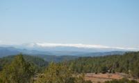 Javalambre cumbres nevadas Valle de la Mateba