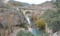 Los puentes Sobre el Mijares, Font Seca Albentosa