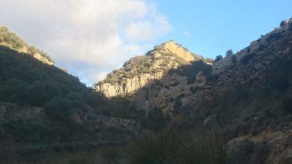 """Paraje de la """"Cueva Gallinera"""""""